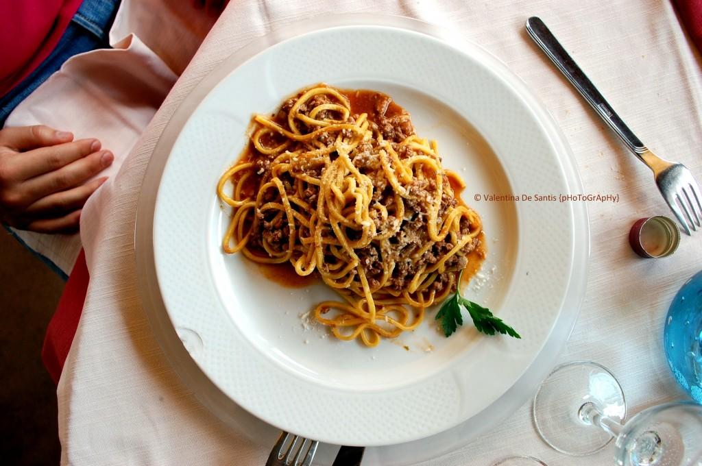 Pasta and wild boar ragù, Osteria Il Cardinale