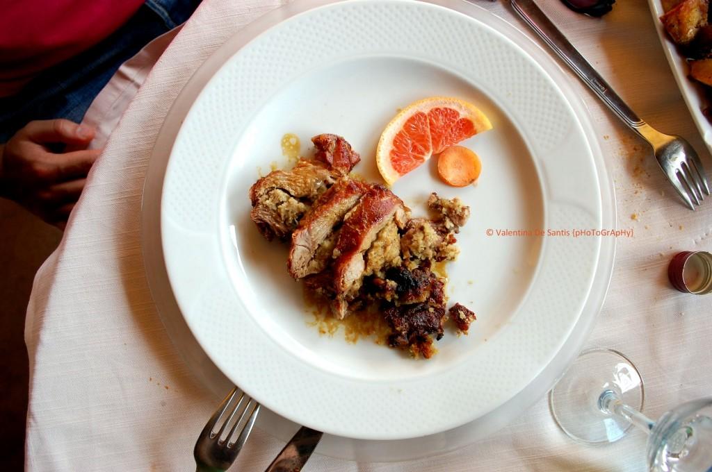 Stuffed pork, Osteria Il Cardinale