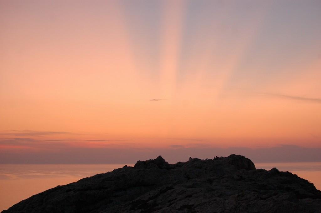 Sunset, Ile Rousse