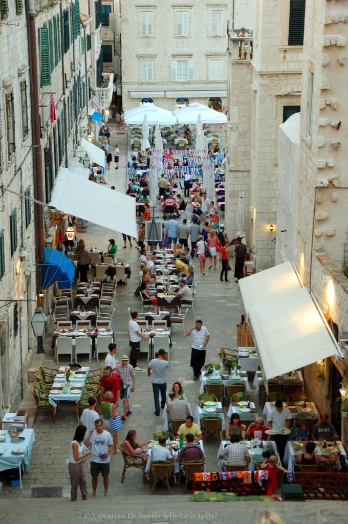 Dubrovnik, streets