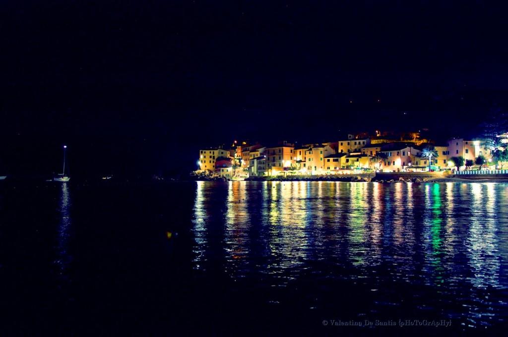 Island of Elba, Marciana Marina by night
