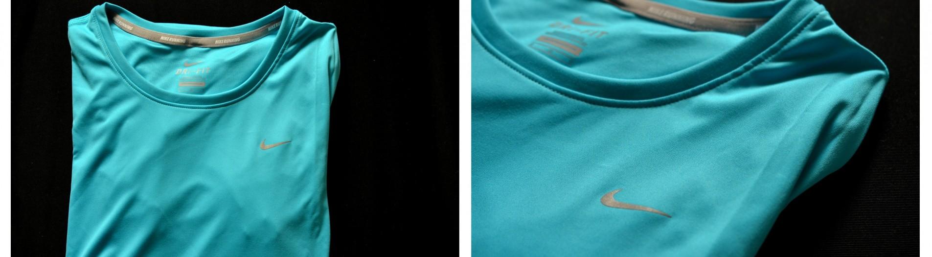 I love running, my t-shirt of Nike