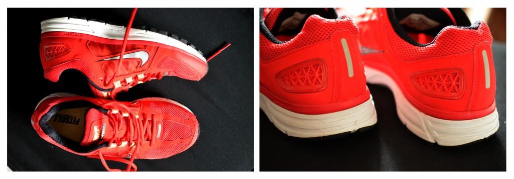 I love running, my Nike Vomero shoes
