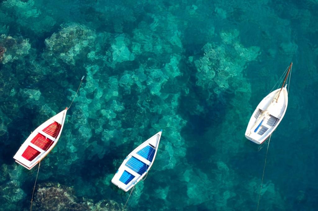 Aci Castello, boats
