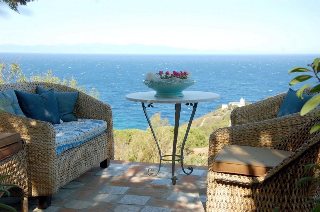Island of Elba, Patresi - terrace