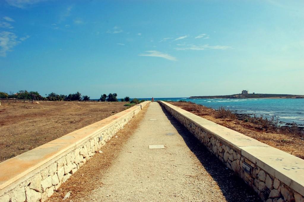 Portopalo di Capo passero, toward the sea
