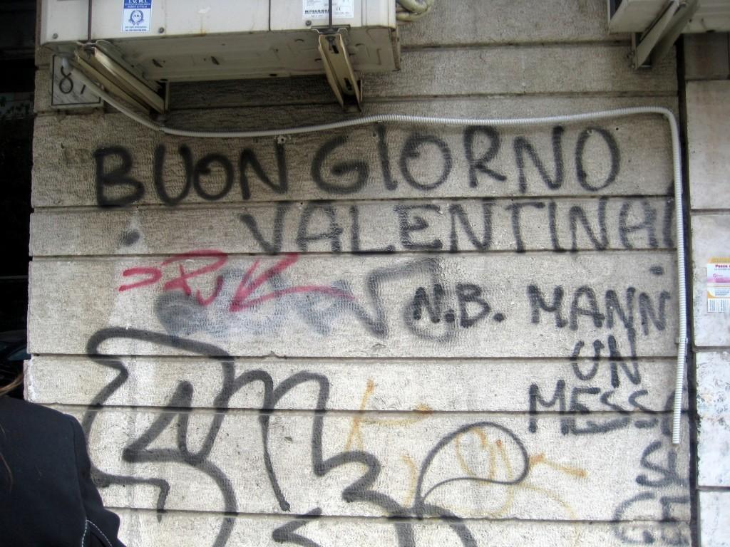 """""""Italian"""" Graffiti"""