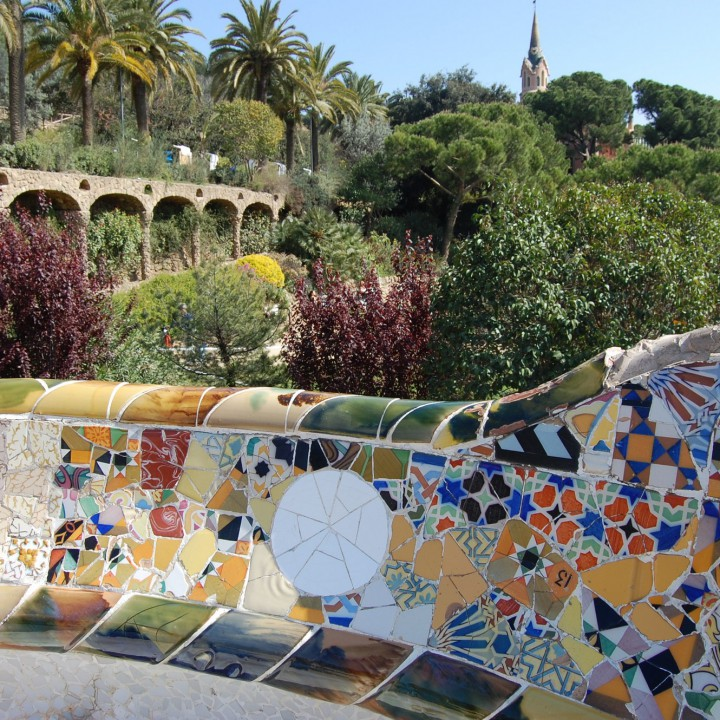 Postcards from Barcelona, Parc Güell