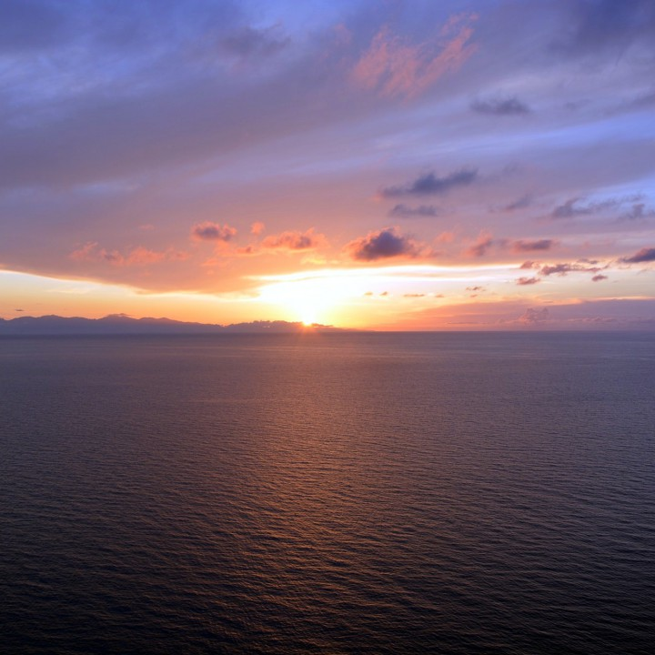 Island of Elba: sunset by Punta Nera