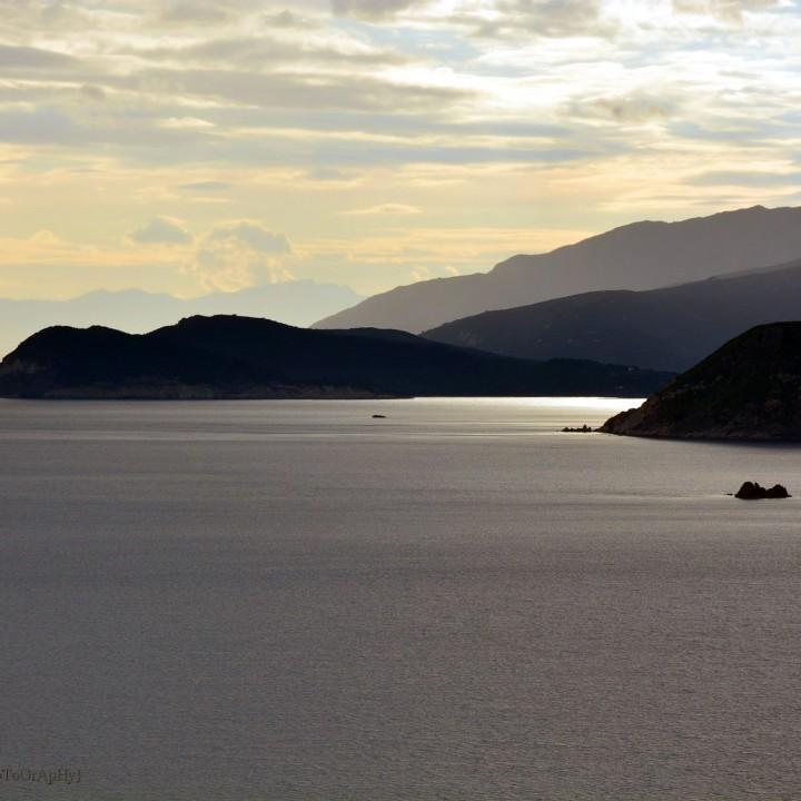 Island of Elba: rainy sunset from Innamorata