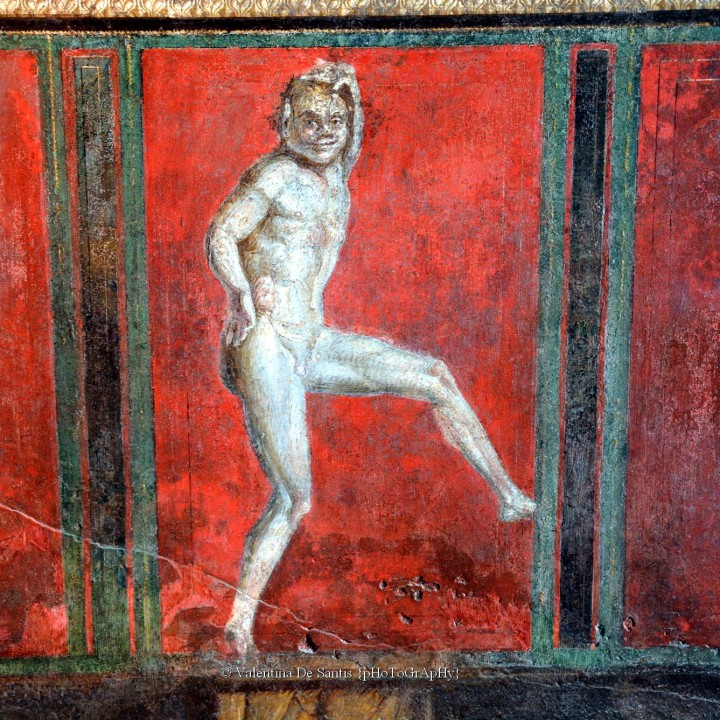 Pompeii, the house of the Faun and the Villa of the Mysteries