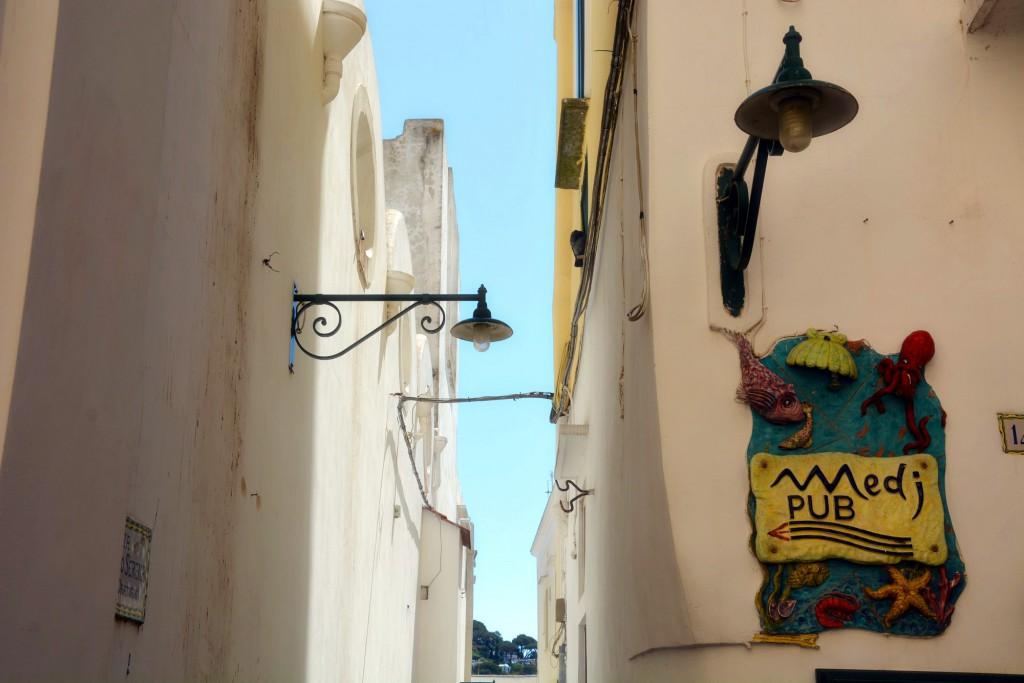 Capri, a lane