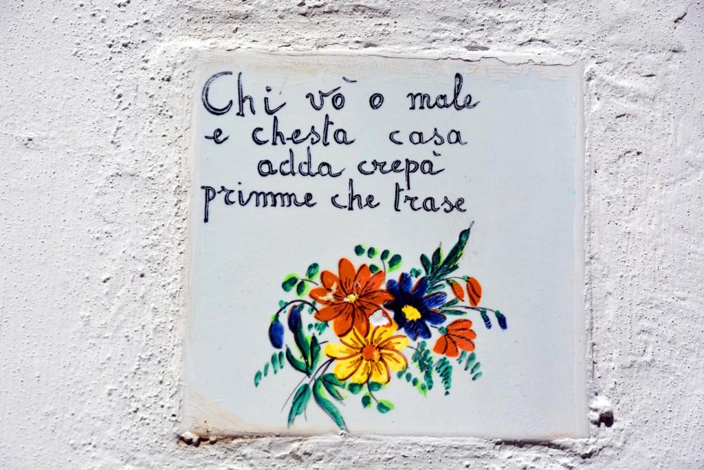 Capri, detail