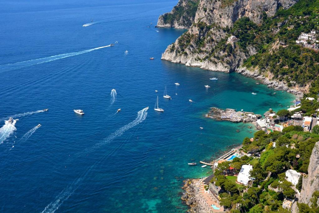 Capri, view