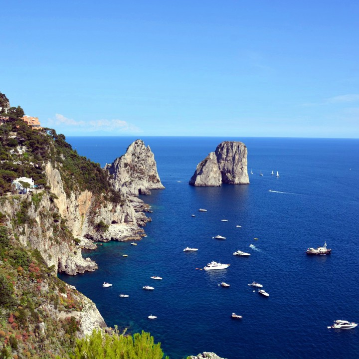 Capri, the iconic image