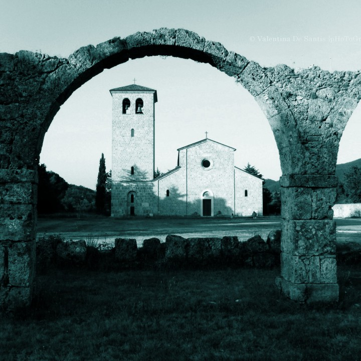 Visiting the Abbey of Castel San Vincenzo