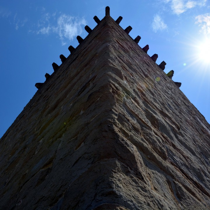 The tower of Castelraimondo