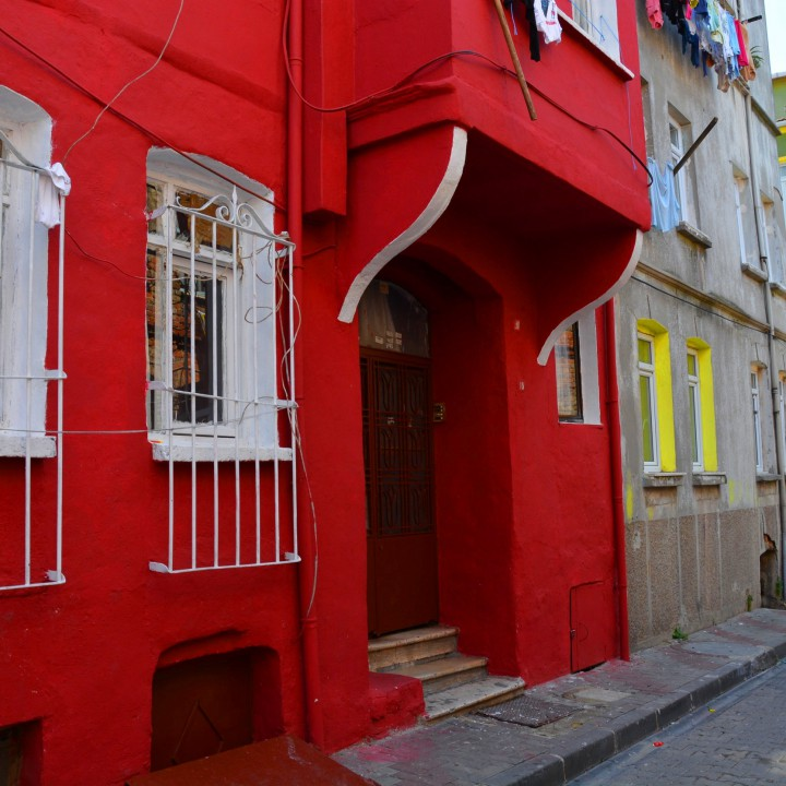 Istanbul, exploring the quarter of Balat