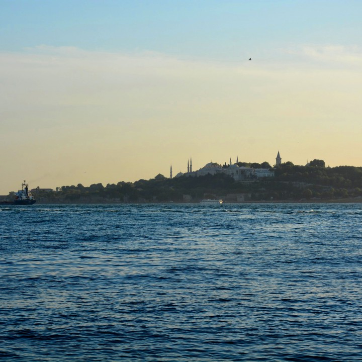 Sailing from the sea of Marmara to the Black sea