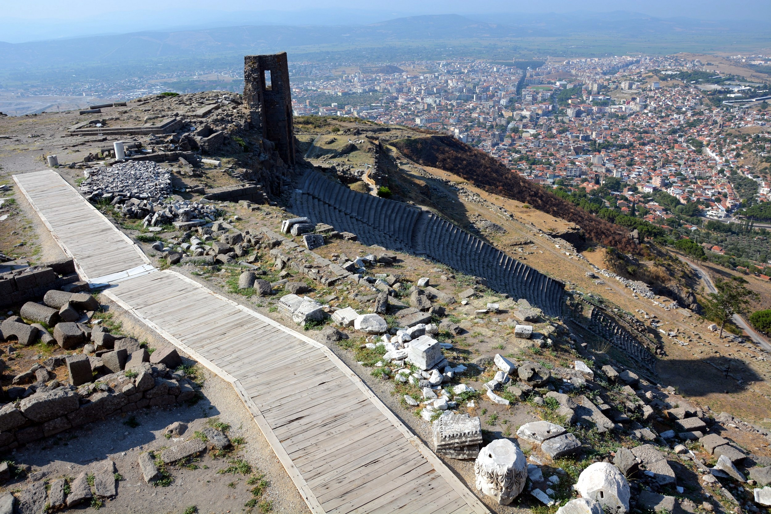 Pergamon, the steep theater
