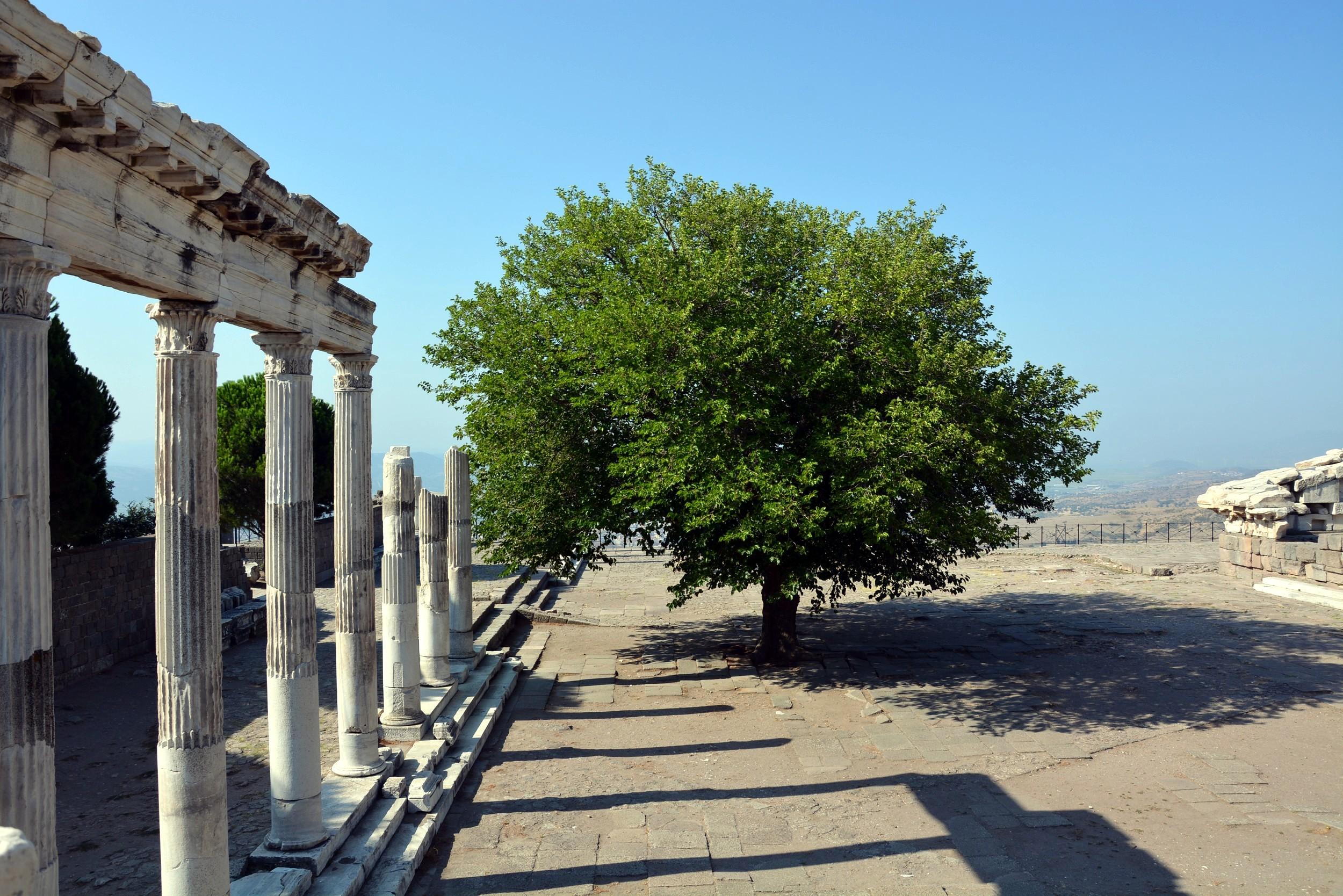 Pergamon, the sanctuary of Trajan