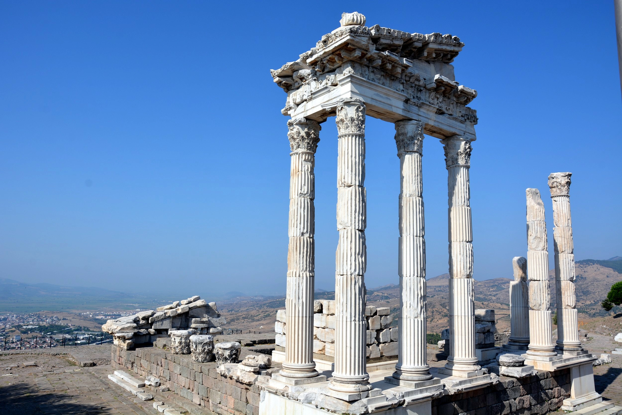 Pergamon, The Sanctuary of Trajan