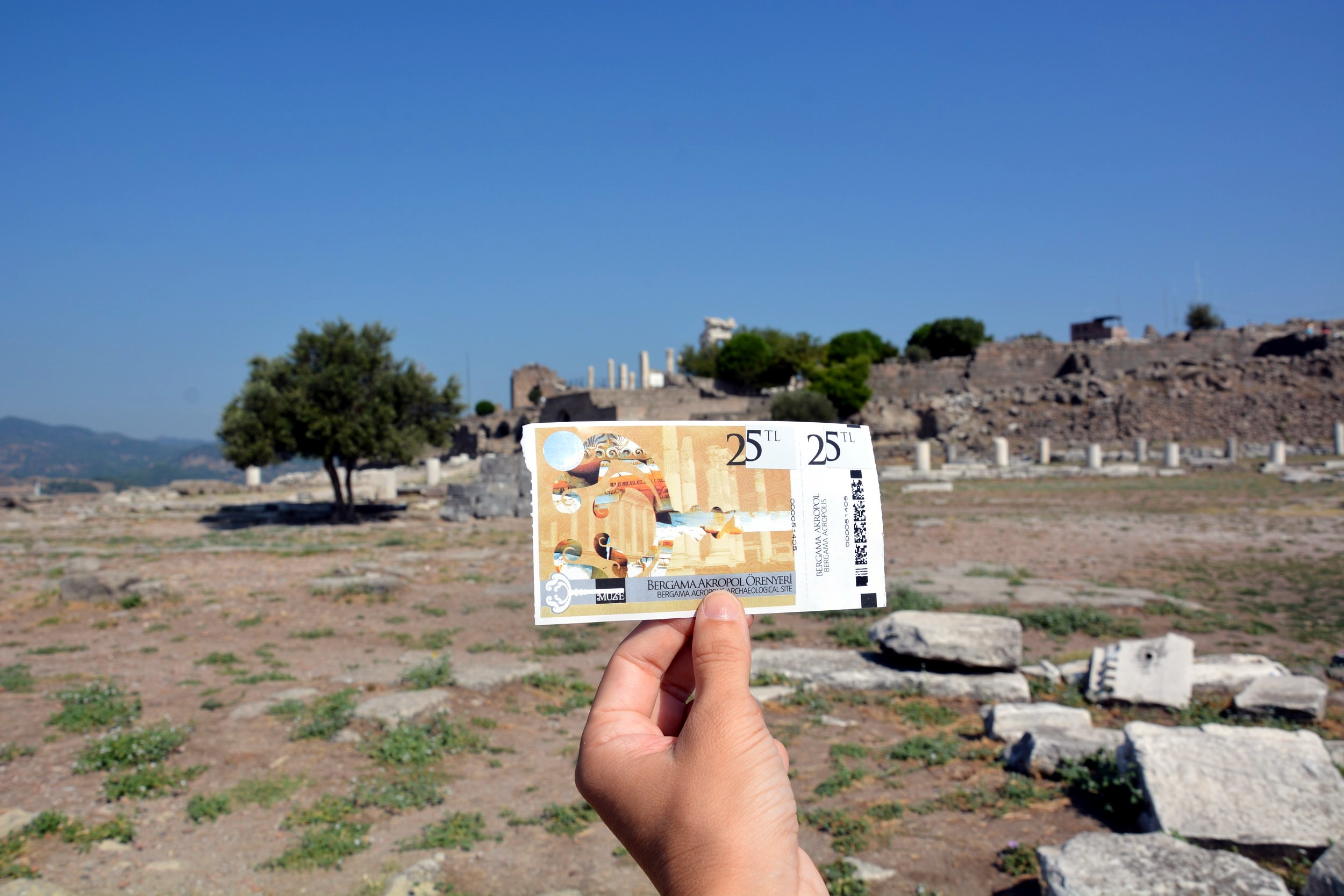 Pergamon, tickets