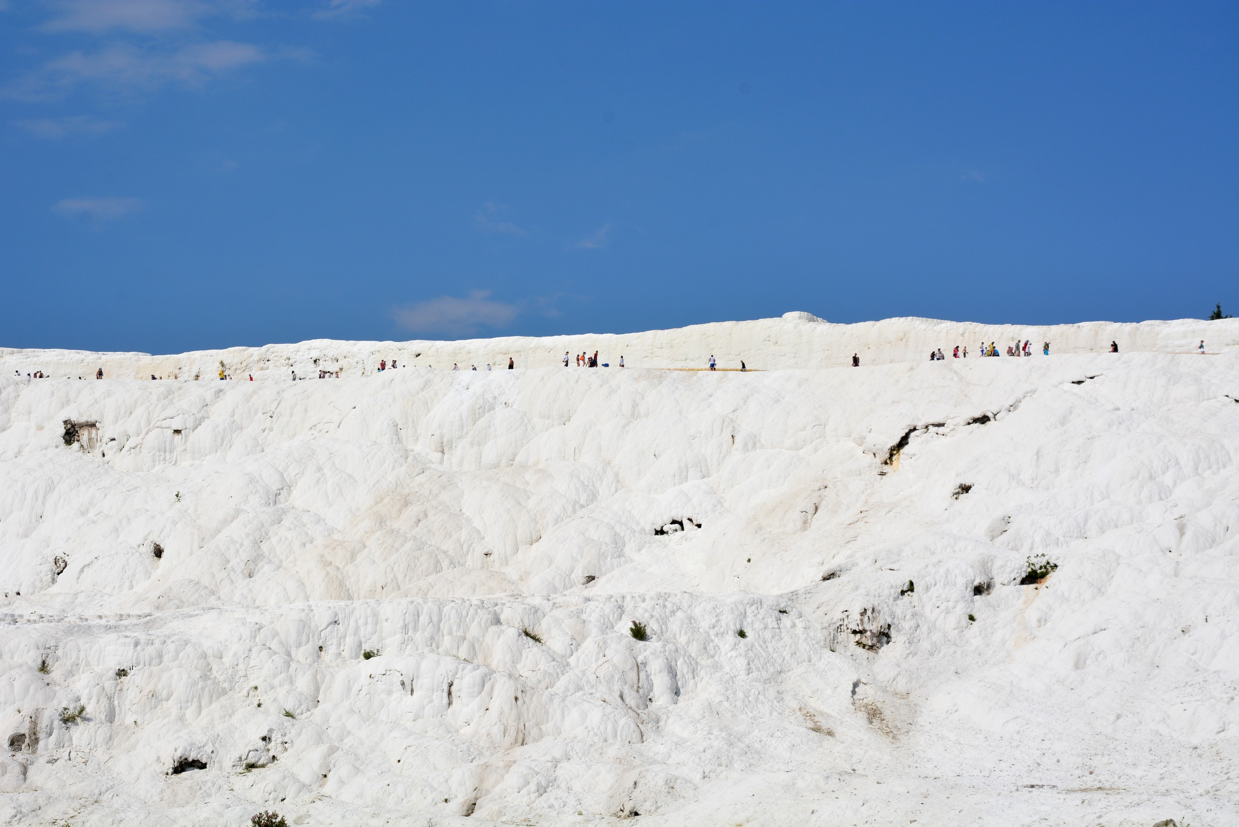 Pamukkale, view from the park