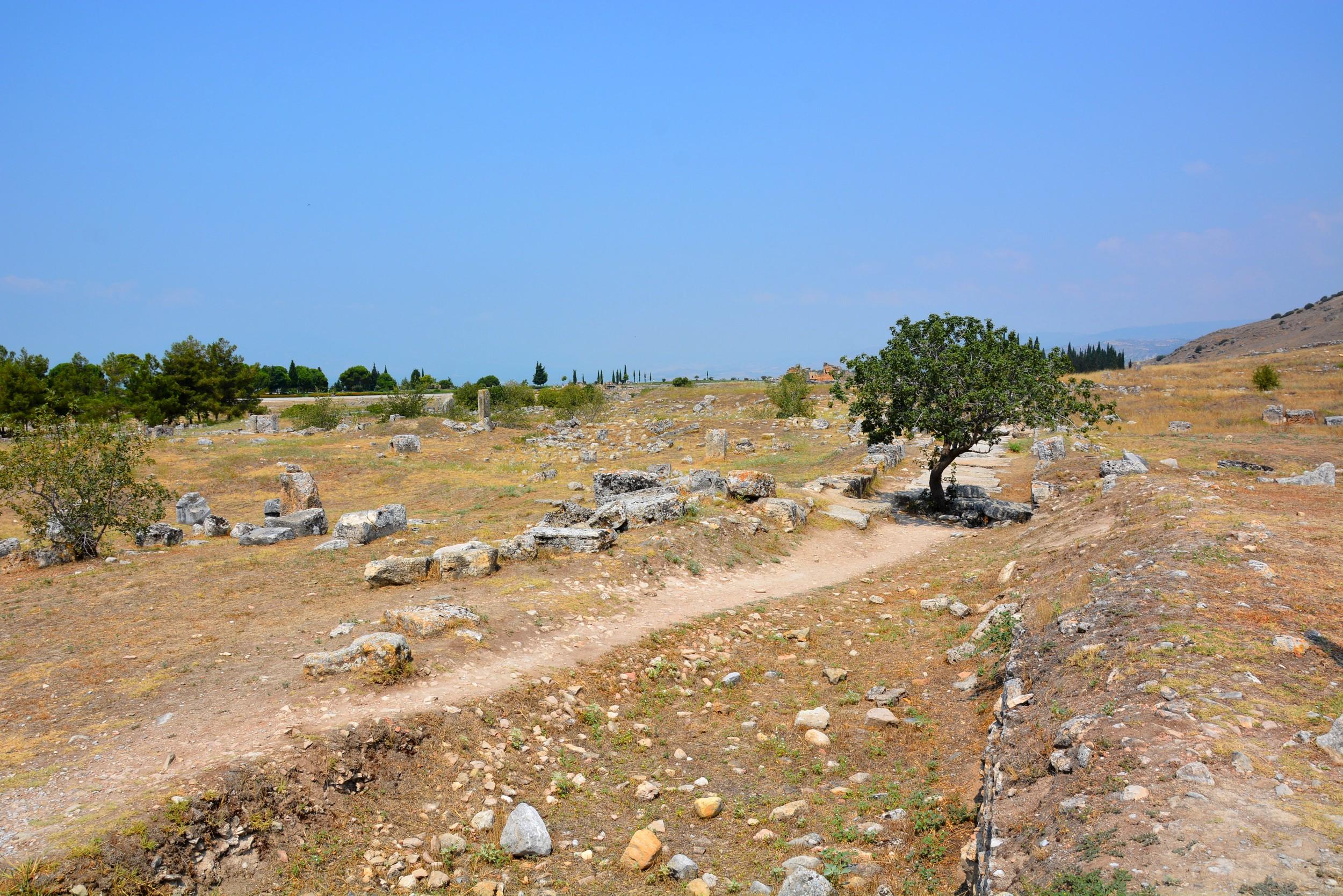 Hierapolis, ruins