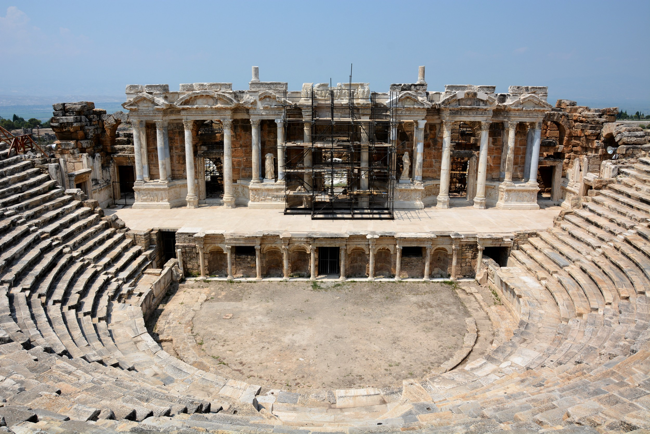 Hierapolis, the theater