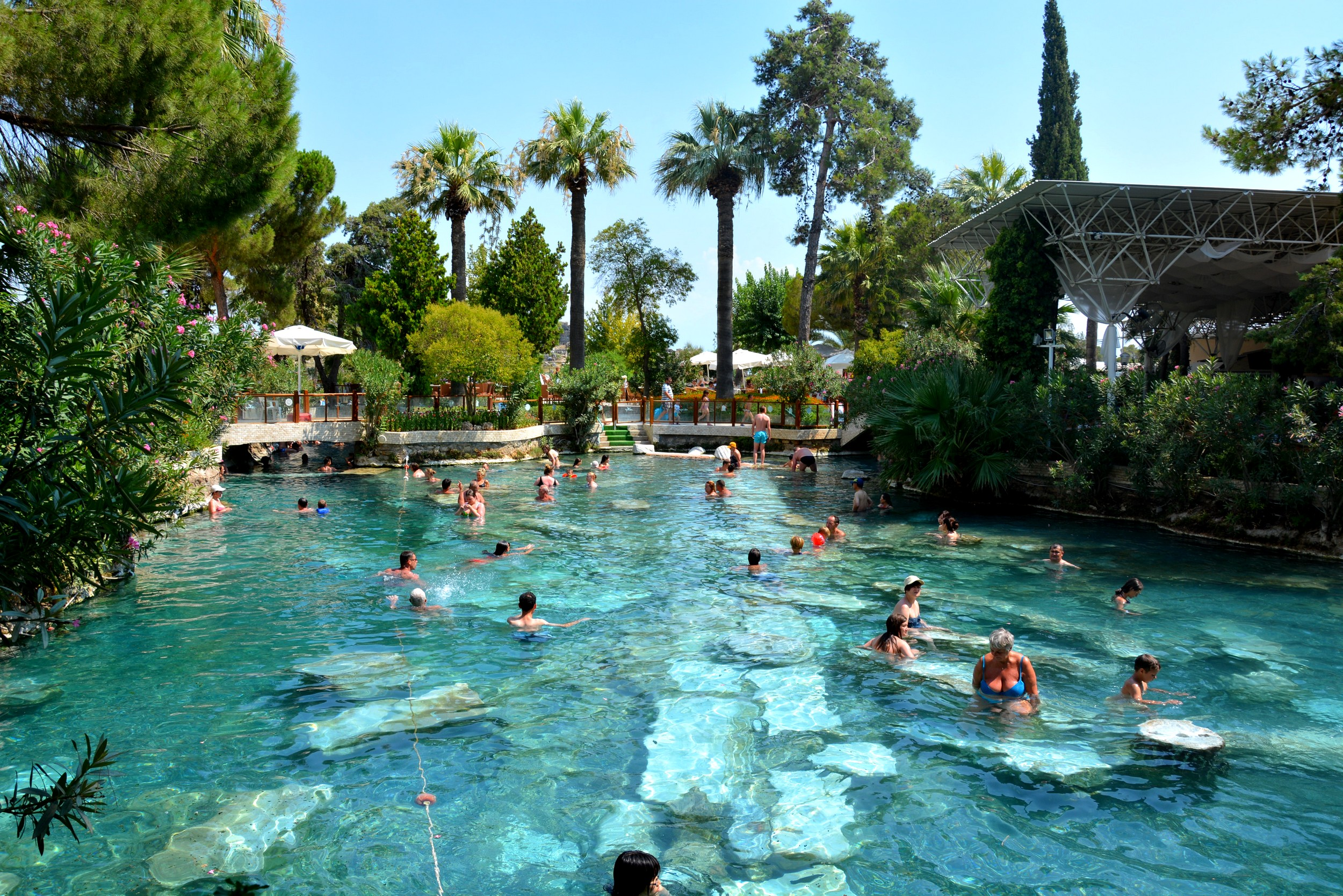 Image result for piscina cleopatrei pamukkale