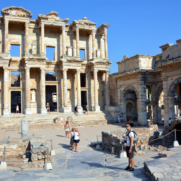 Throwback time in Ephesus