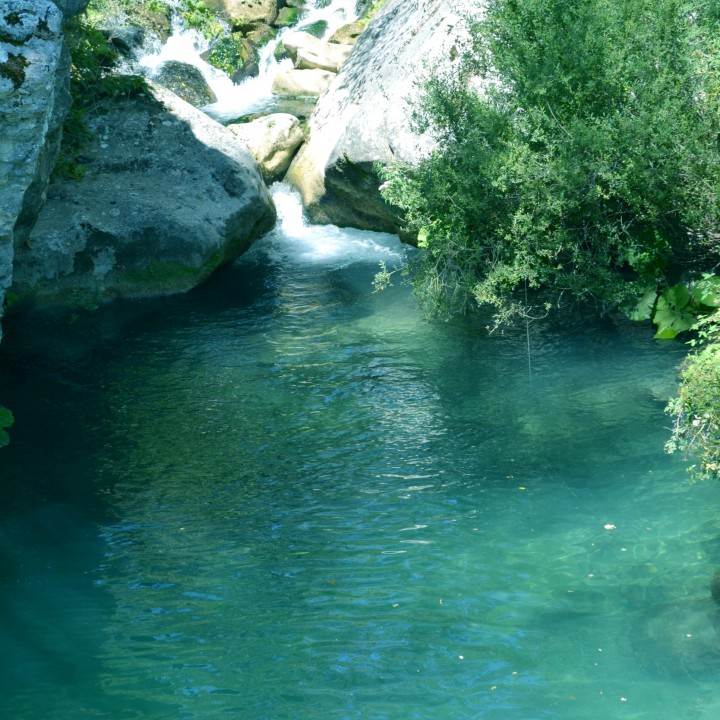 The Blue Lagoon in Alto Molise
