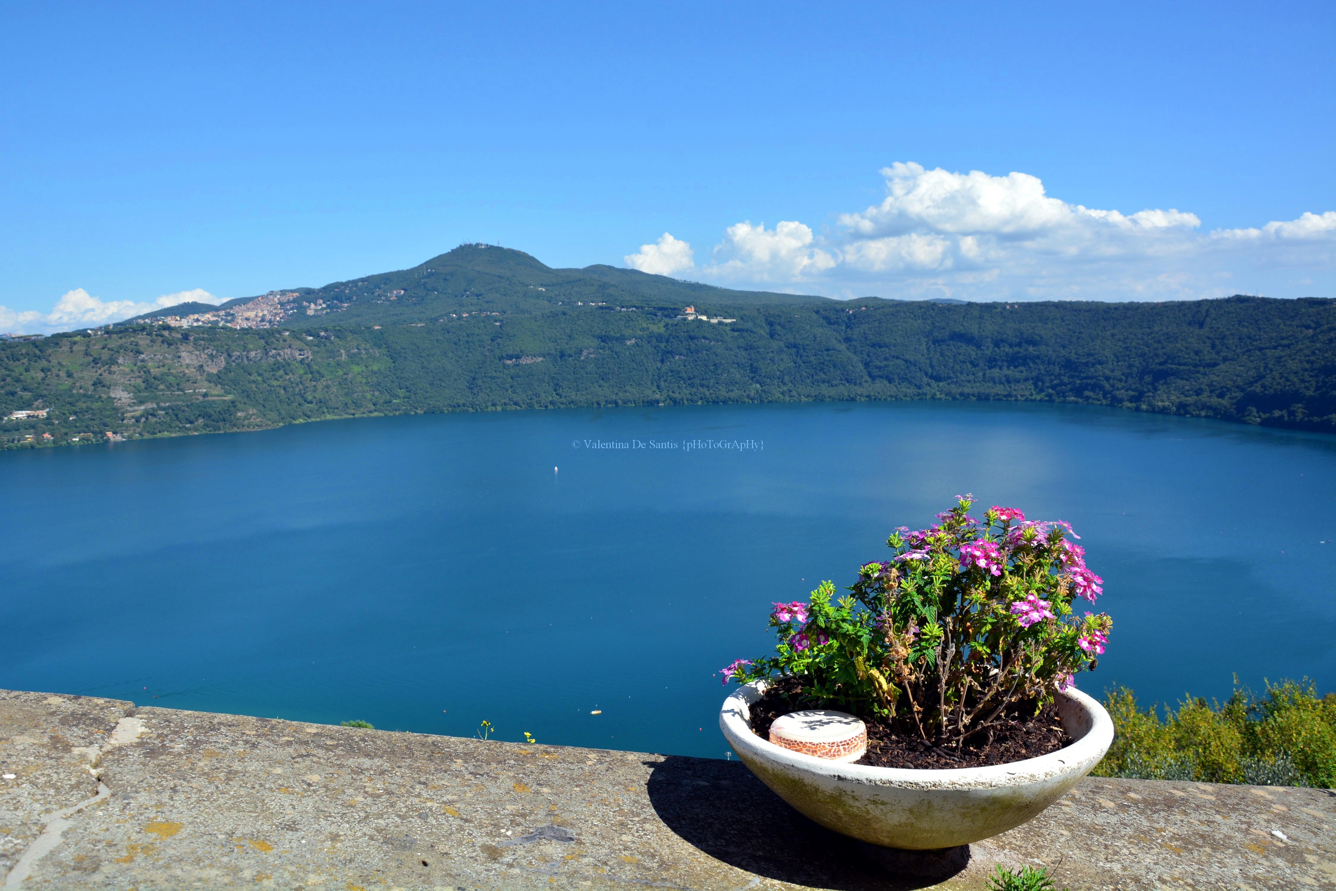View of Lake Albano
