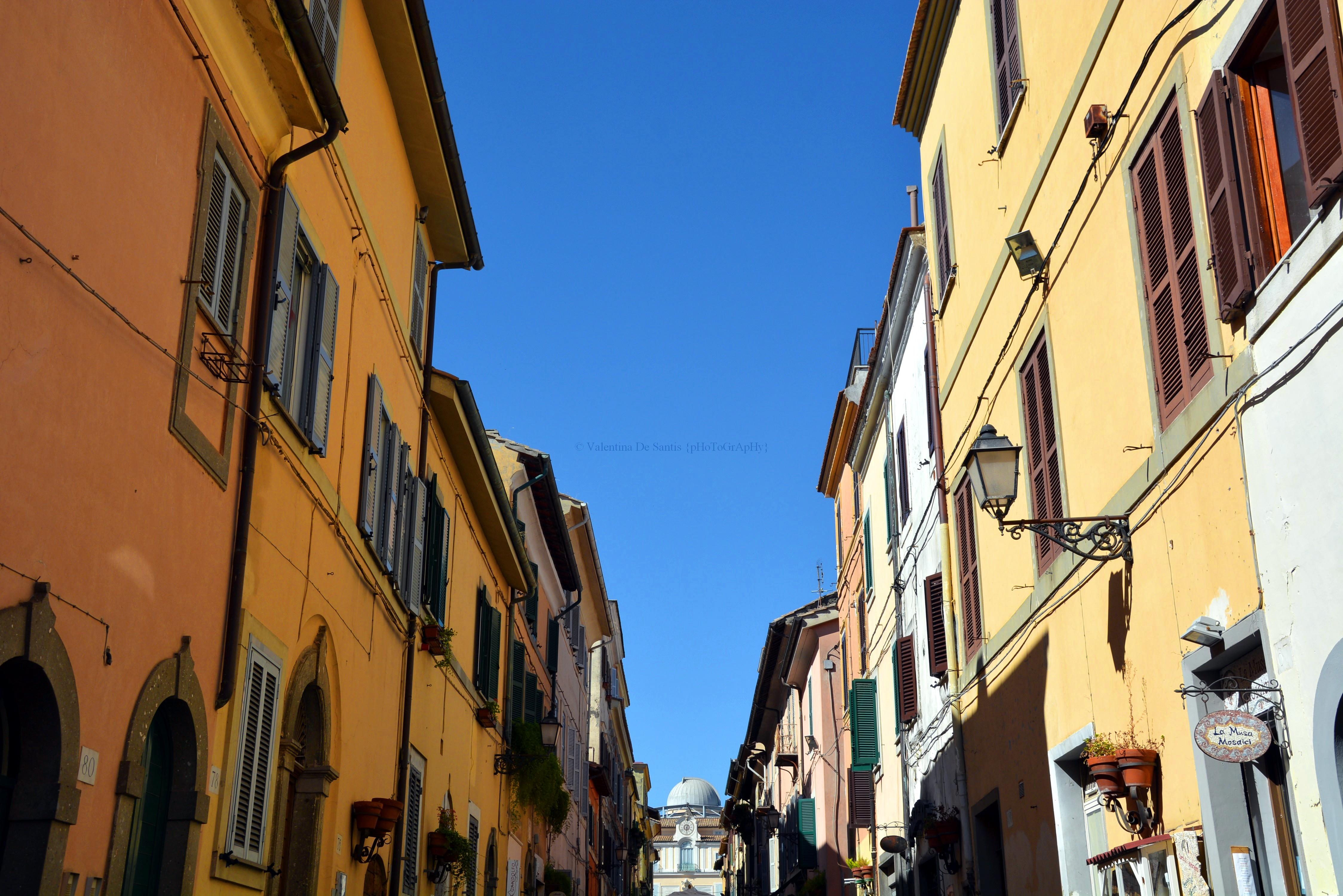 Main street, Castel Gandolfo