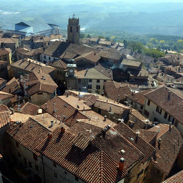 Piancastagnaio, the Castle of Aldobrandeschi