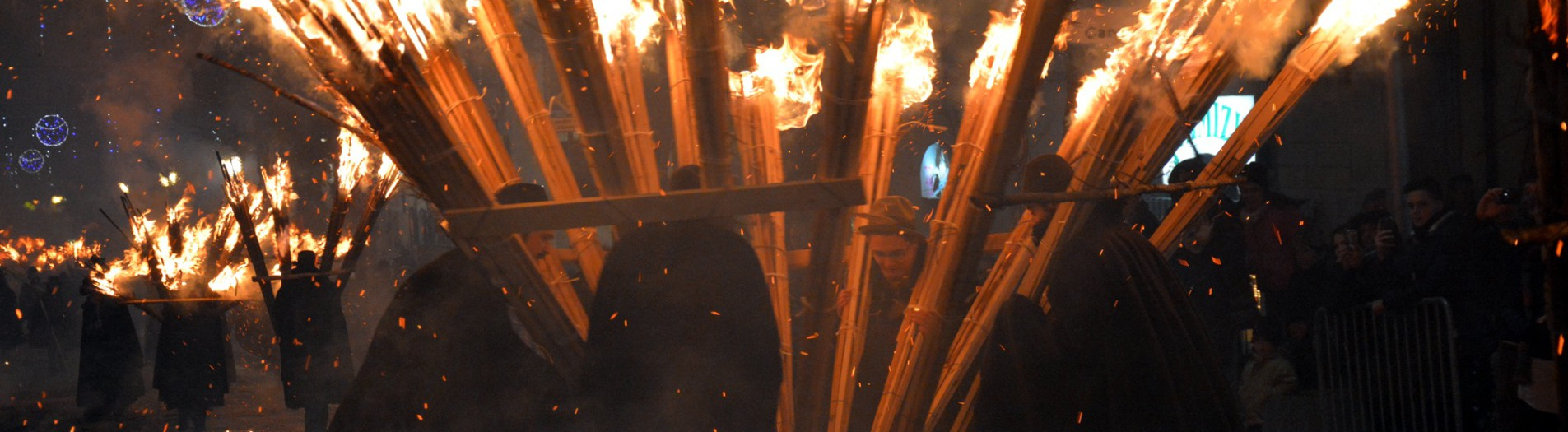 Bringing the fire: 'Ndocciata 2014