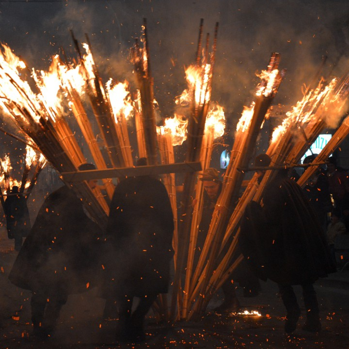 Bringing the fire: 'Ndocciata 2014