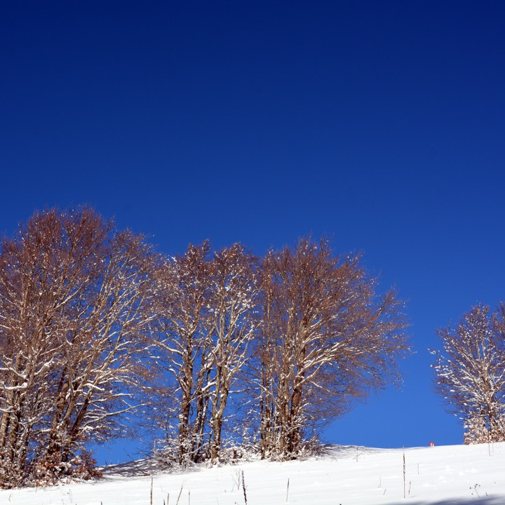 Blue sky of Terminillo
