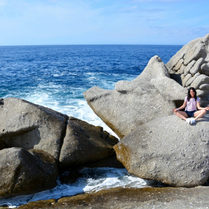 On the rocks of Sant'Andrea