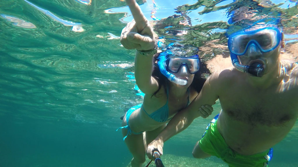 GoPro, under the sea