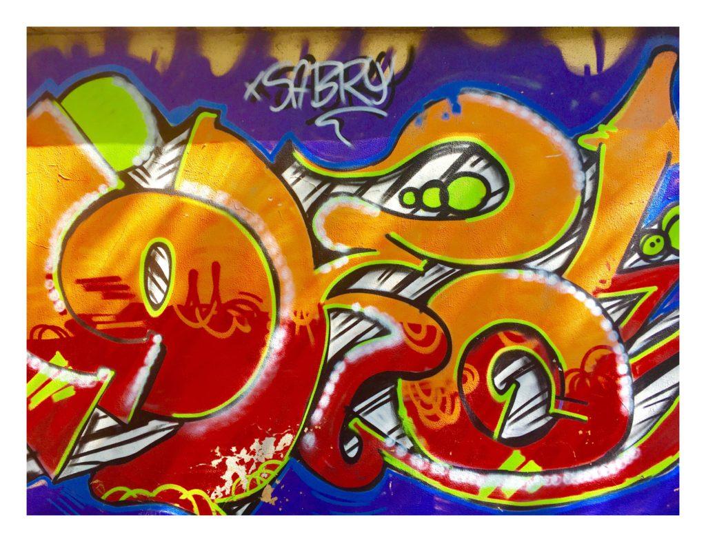 Graffiti, walls of Rome