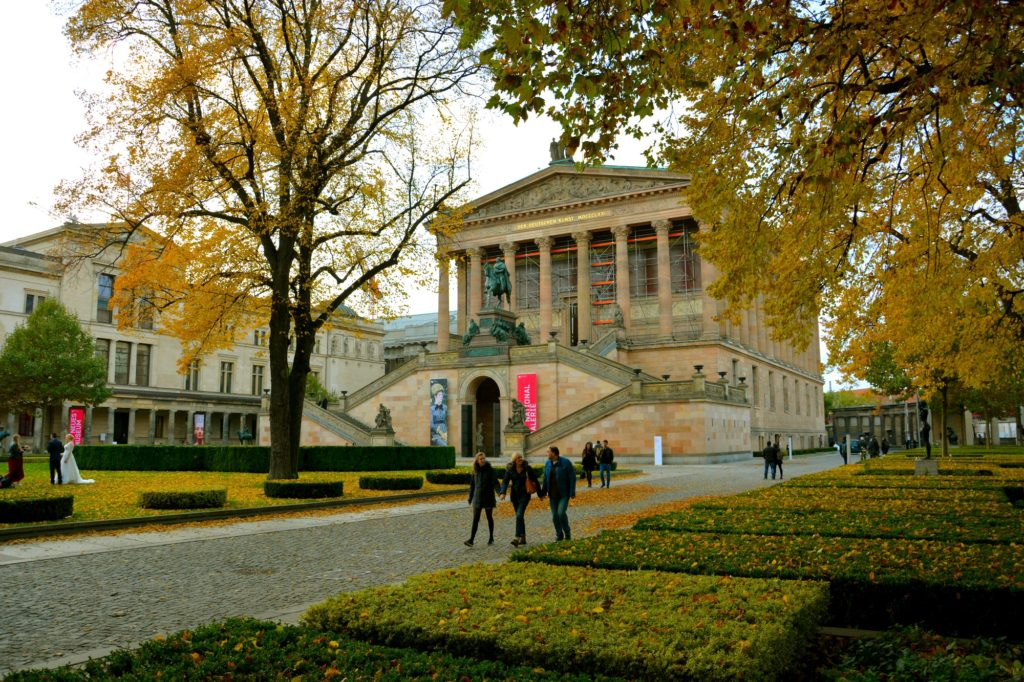 Museums Island: the house of history in Berlin