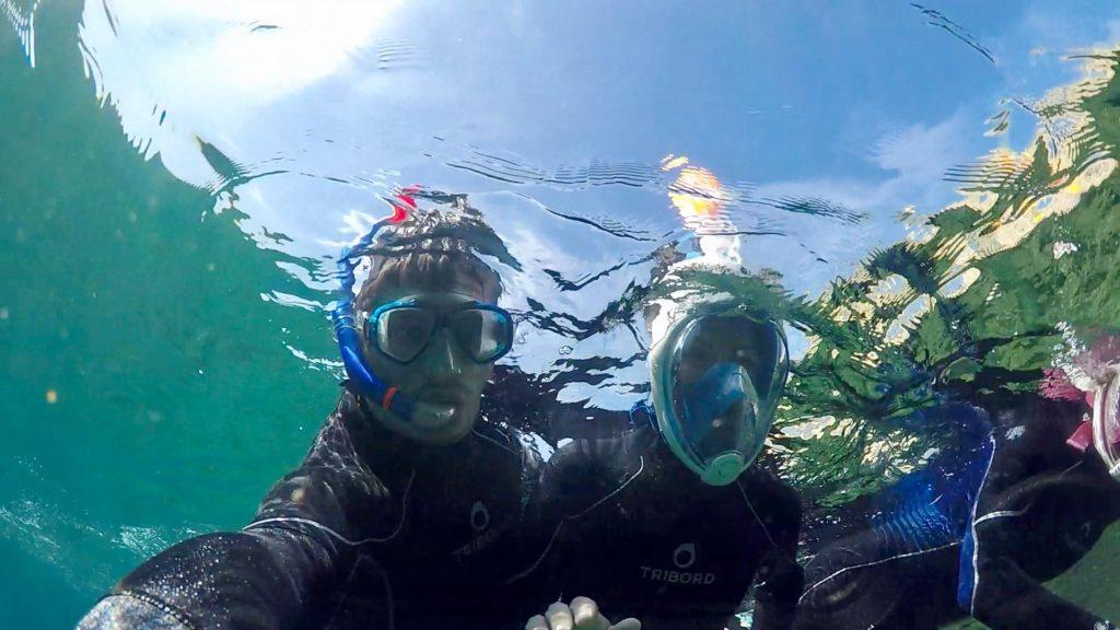 Exploring the undersea-side of Porto Torres