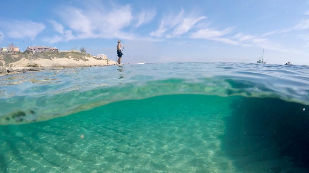 Exploring the undersea-side of Porto Torres
