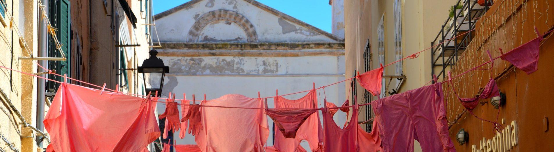 Alghero in pink