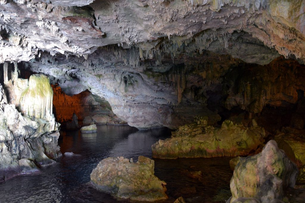 A visit to the Neptuno's Caves