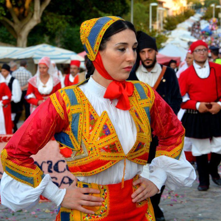 Porto Torres celebrates Festha Manna